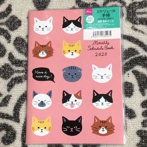 2020 Cats Monthly Schedule Book